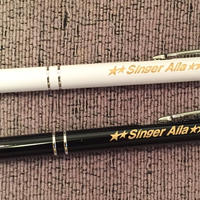 アイラスタイリッシュボールペン 白、黒 500円