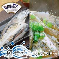 関サバ三昧セット(2L) 2人前 大分県佐賀関漁協直送 冷凍 一夜干し りゅうきゅう