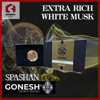 SPASHAN x GONESH スパシャンとガーネッシュのコラボ ガーネッシュ ホワイトムスク 車の芳香剤