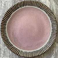 マカロンシリーズ 27㎝平皿 さくら色 1