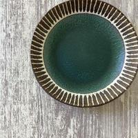 マカロンシリーズ 6寸皿 カーサグリーン 2