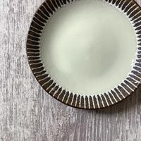 マカロンシリーズ 7寸皿 クリーム 2