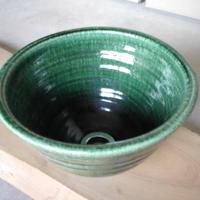 織部(小)手洗い鉢