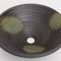 灰釉(中)手洗い鉢