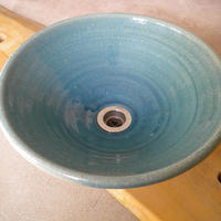 ウォーターブルー(中) 手洗い鉢 31㎝