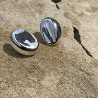 Twisty silver pierce