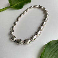 Solid Oval Chain Necklace