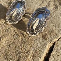 Handstamps Ellipse silver pierce