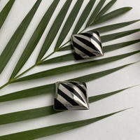 Tribal Onyx Earring
