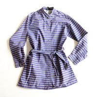 VUOKKO stripe shirt jacket