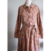 70s Marimekko dress w/belt