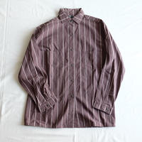 VUOKKO brown stripe shirt