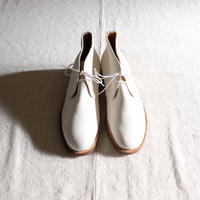 Lady's church's white bucks chukka boots