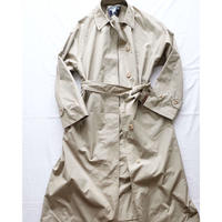 Lady's Burberry Single panel coat w/belt