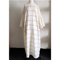 VUOKKO stripe wool dress