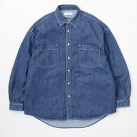 Graphpaper / Denim Regular Collar Shirt