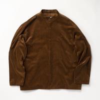 ATON / Suvin Corduroy  Standcollar  Shirt