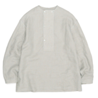 E.TAUTZ DB COLLARLESS SHIRT