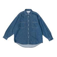Graphpaper/Denim Regular Collar Shirt