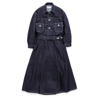 Graphpaper Belted Denim Dress