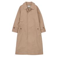Graphpaper Double Cloth Peach Soutien Collar Coat