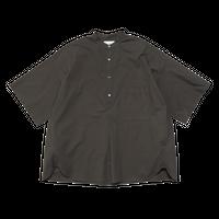 Graphpaper / Stretch Typewriter Stand Collar Short Yoke Sleeve Shirt