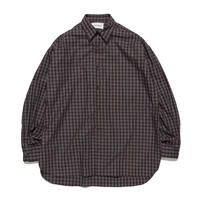 MARKAWARE / Organic Cotton Check Poplin Comfort Fit Shirt