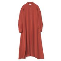 Graphpaper / Satin Band Collar Dress