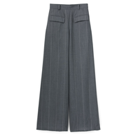 Graphpaper Wide Stripe Wool Pants