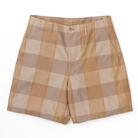 Graphpaper/Check Gabardine Oversized Shorts