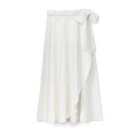 Graphpaper Cut Off Jersey Flare Skirt