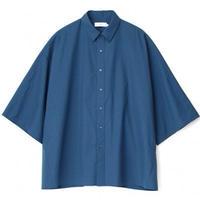 Graphpaper/Fine Wool Tropical Yoke Sleeve S/S Shirt