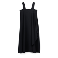 Graphpaper Cut Off Jersey Flare Dress