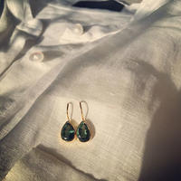 Green Quarts Earrings