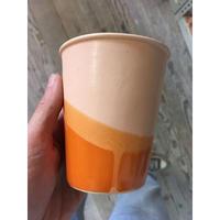 Okay Cup Peach over Terracotta