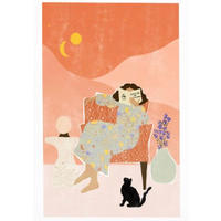 """Astrology"" Art Print A4"
