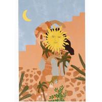 """Soul Full of Sunshine"" Art Print A4"