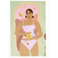 """Missing Moon"" Art Print A4"