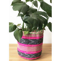 Large Knit Basket #606