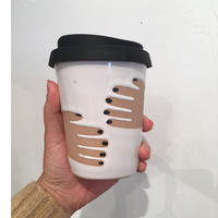 "Okay Cup ""Hug""  w/Black Nail"