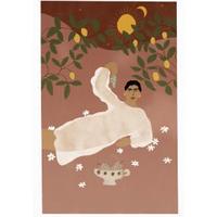 """Greek Life"" Art Print A4"