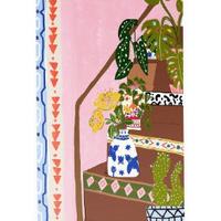 """""""Bohemian Stairs"""" Art Print A4"""