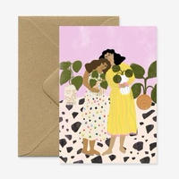 """""""No Thanks We Have Plants"""" Greeting Card"""
