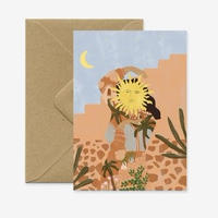 """Soul Full of Sunshine"" Greeting Card"