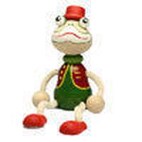チェコおすわり人形カエル LUMAZ+ブランコ