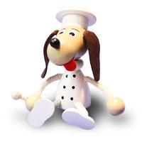 チェコおすわり人形  犬のコックさん ABAfactory