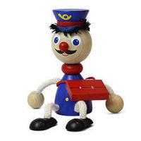 チェコおすわり人形 ポストマン ABAfactory