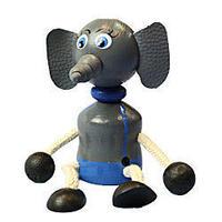 チェコおすわり人形 ゾウ LUMAZ+ブランコ