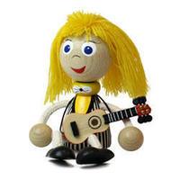 チェコおすわり人形 ギターリスト ABAfactory