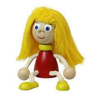 チェコおすわり人形 ガール ABAfactory